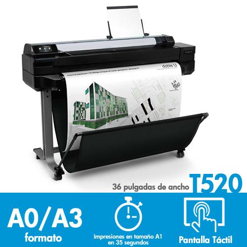 Plotter HP T520 CQ893A 36 pulgadas + Pendrive regalo