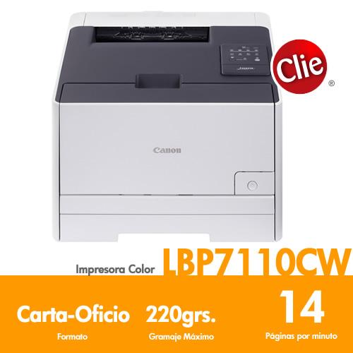 Impresora laser Canon LBP-7110CW Precio $0 IVA Incluido Chile ...